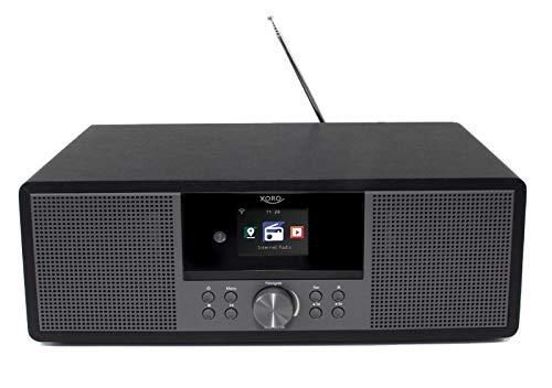 Xoro Internetradio HMT 600 mit WLAN CD-Player DAB+/FM Radio Bluetooth USB MP3 Spotify Web Radio
