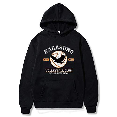 TG Haikyuu Karasuno Volleyball Club Print Hoodie Kapuzenpullover Top XS-XXL