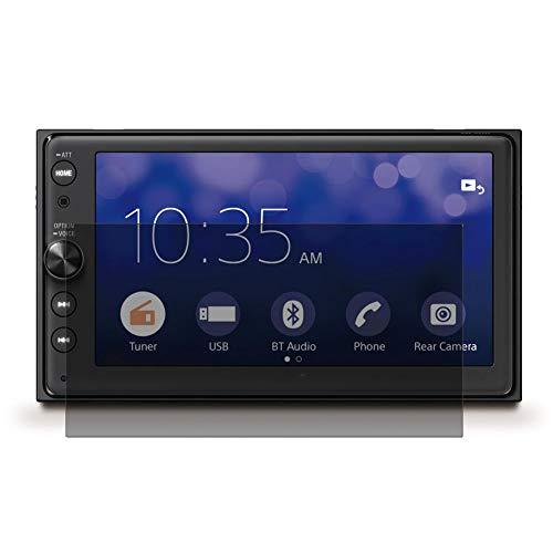 Vaxson TPU Pellicola Privacy, compatibile con SONY XAV-AX100, Screen Protector Film Filtro Privacy [ Non Vetro Temperato ]
