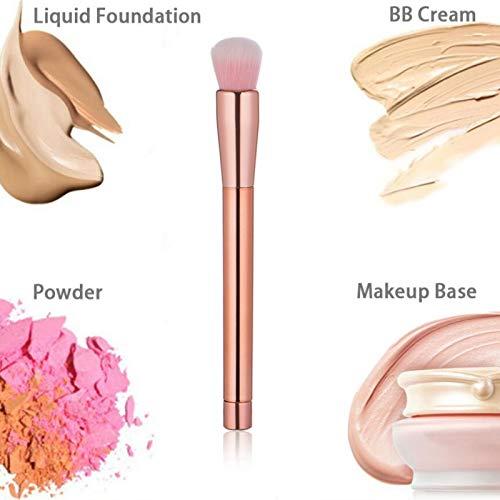 Nouveau Multifonctionnel Maquillage Brosse Placage Poignée Fibre Poils Cosmétique Brosse Blush Brosse Brosse À Sourcils