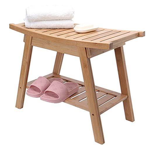 Sillas de ducha Sillas Taburetes de baño Mujeres embarazadas Discapacitados La silla de ducha |Asiento de taburete de bañera Bench |Bambú |para discapacitados, personas mayores, bariátricas, 30