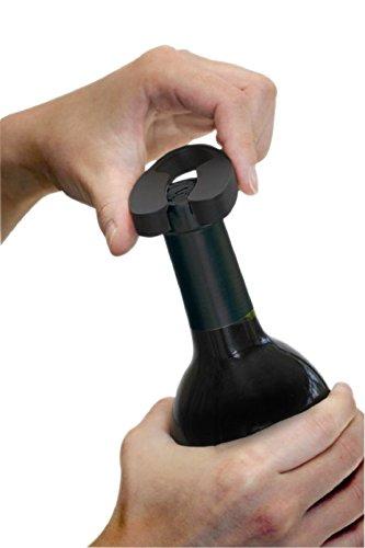 Ozeri Deutschland OWO4A-EU - Apri Bottiglie Professionale Elettrico, Colore: Nero