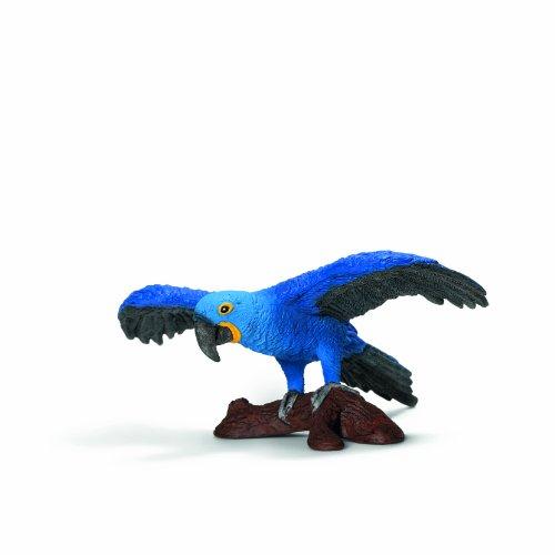 Schleich - Figura Guacamayo, Color Azul (14689)