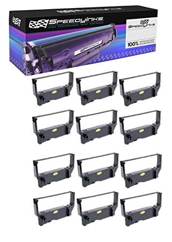 Price comparison product image Speedy Inks Compatible POS Ribbon Cartridge Replacement for Star Micronics RC200P (Purple,  12-Pack)
