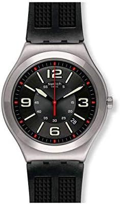 Swatch Reloj Analógico para Hombre de Cuarzo con Correa en Caucho YWS444