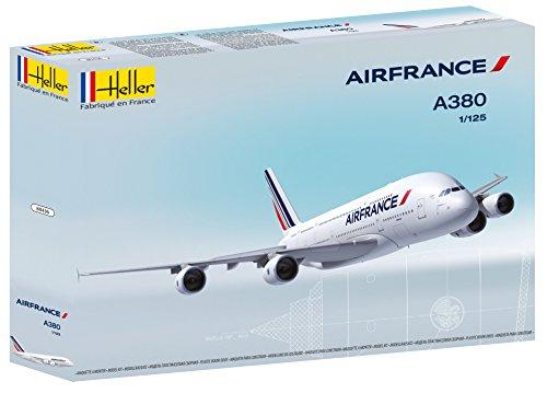 Heller 80436 - Modellino da Costruire, Aereo A380 Air France, Scala 1:125 [Importato da Francia]