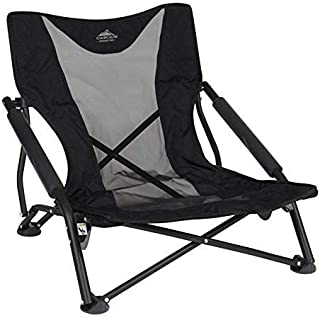 Cascade Mountain Tech Compact Low Profile Beach Outdoor Camping Concert Chair (Renewed)