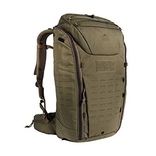 Tasmanian Tiger TT Modular Pack 30 Daypack Wander-Rucksack mit 30 Liter Volumen inkl. Organizer Zusatz-Taschen Set für mehr Ordnung Coyote Brown