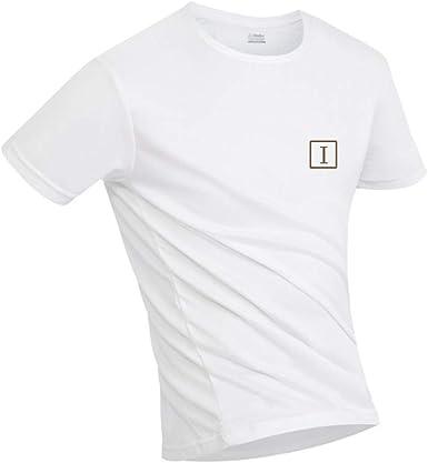 Irypulse Camiseta Hidrofóbica para Hombres y Mujeres, T Shirt Anti-incrustante Impermeable, Unisex T-Shirt Deportiva Casual Manga Corta, Secado ...