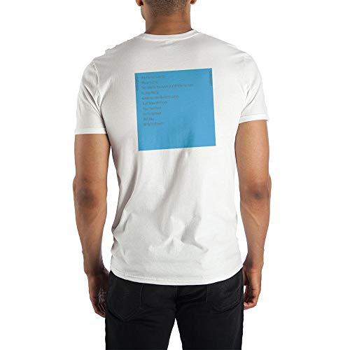Mens Weezer Blue Album Cover Graphic Tee-Medium