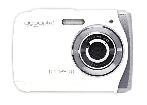 Easypix 10018 Aquapix W1024-W Splash Unterwasser Digitalkamera weiß
