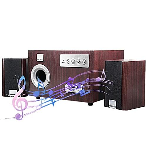 Altavoces De EstanteríA Altavoces HiFi Estanteria Altavoz Bluetooth 2,1 Ordenador De Sobremesa...