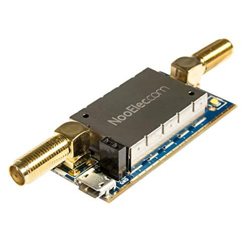 NooElec SAWbird+ NOAA Barebones: Filtro Saw Premium e Modulo LNA a Basso Rumore a Cascata per Applicazioni NOAA. Frequenza Centrale 137MHz
