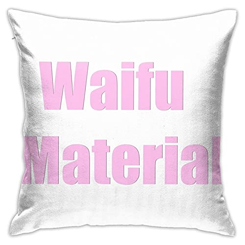 ChenZhuang Waifu Material 2 Pilloases Piso Pilloases Pilloases Sofá Cojines Fundas Cojines Fundas de Respaldo Coche Interior
