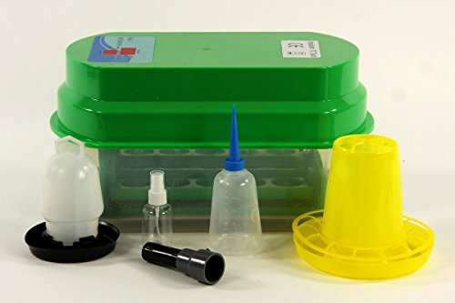 Inkubator VOLLAUTOMATISCH BK15Pro + Zubehör, 15 Eier, Brutautomat, Brutmaschine