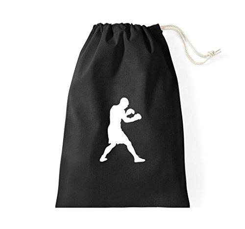Turnbeutel Boxen Boxer WBA WBO Klitschko Gymsack Kultsack schwarz