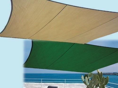 VELE OMBRA PRAIANO CM.300X400 VELA OMBREGGIANTE COPERTURA (Verde)