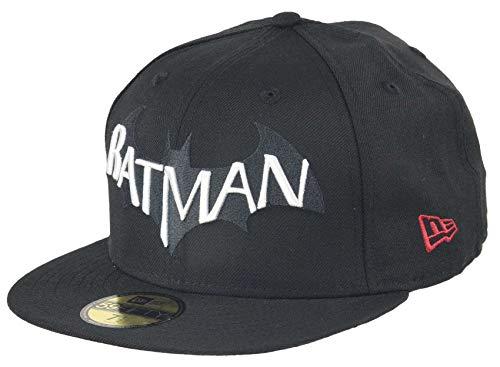 New Era Arkham City Batman 59fifty Basecap Batman Edition Black - 7 3 8-59cm