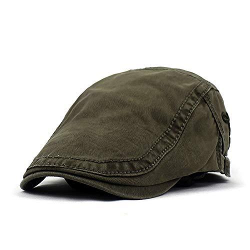 Adantico Unisex de la Boina Sombrero Primavera (Verde)
