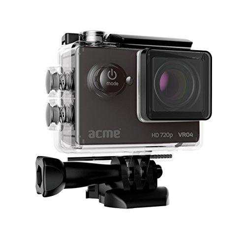 ACME VR04 Compact HD Sports und Action Kamera schwarz