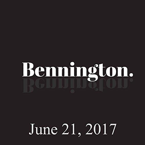 Bennington, Robert Kelly, June 21, 2017 cover art