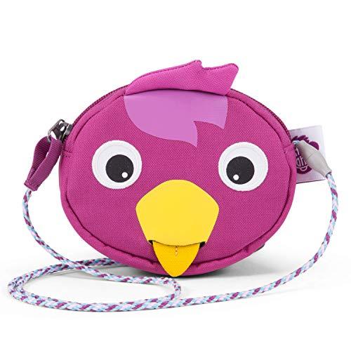 Preisvergleich Produktbild Affenzahn Portmonee für 1-5 Jährige im Kindergarten - Vogel - Lila