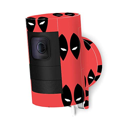 MightySkins Skin Compatible with Ring Stick Up Cam Wired - Dead Eyes Pool | Protective, Durable, and Unique Vinyl Decal wrap Cover | Easy to Apply, Remove, and Change Styles | Made in The USA