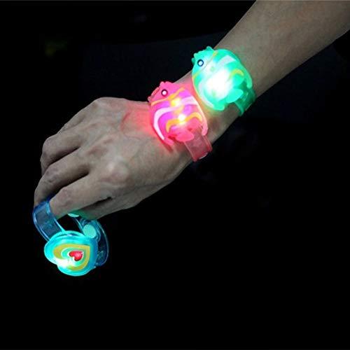 AVANI EXCHANGE Camtoa LED Flash Braccialetto Luminoso Halloween Party Wrist Band Toy Decoration