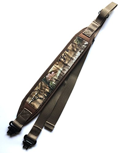 Ade Advanced Optics rs-camo-3 2018 Imporved Camo Padded Rifle Sling Shoulder Strap, Camouflage