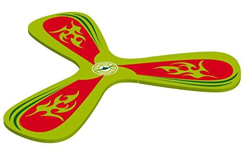 Paul Günther 1543 - Mc Squeezy Boomerang, aus weichem EVA-Material, ideal für drinnen, fliegt 1 - 3 m weit, idealer Spielspaß für Kinder und Erwachsene