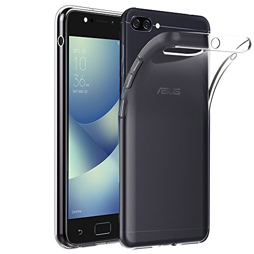 ebestStar - Asus Zenfone 4 Max Hülle ZC520KL Handyhülle [Ultra Dünn], Premium Durchsichtige Klar TPU Schutzhülle, Soft Flex Silikon, Transparent [Phone: 150.5 x 73.3 x 8.8mm, 5.2'']
