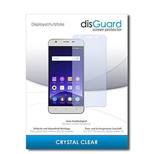 disGuard Displayschutzfolie für Mobistel Cynus F9 [2 Stück] Crystal Clear, Kristall-klar, Unsichtbar, Extrem Kratzfest - Displayschutz, Schutzfolie, Glasfolie, Panzerfolie