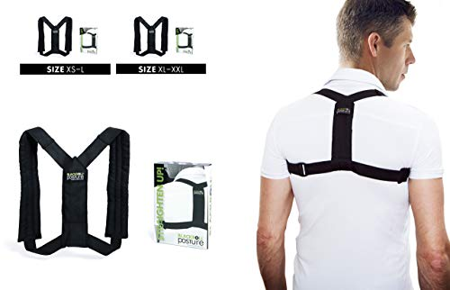 Blackroll Haltungstrainer-schwarz-Designed by Swedish Selbstmassagetools, Posture Standard, XS - L