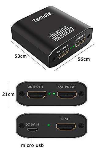 テコール『HDMIスプリッター1in2out(HS306)』