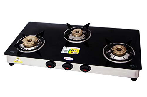 KITCHENMATE IMPERIAL PNG GLASS TOP 3 BURNER FOR (USE WITH PNG ONLY)