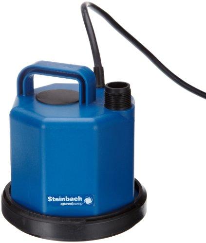 Steinbach 41050 Speedpump Flat TPX 3200 - Bomba Sumergible (sin Flotador, Cable de conexión de 3 m)