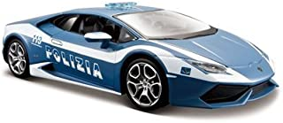 Maisto 1:24 Lamborghini Huracán Polizia Diecast Vehicle (Colors May Vary)