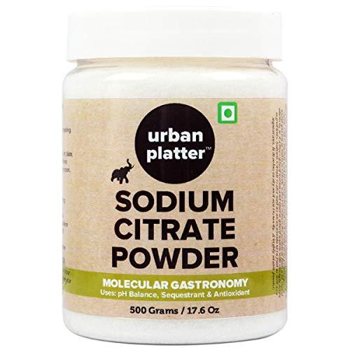 Urban Platter Sodium Citrate Powder 500G / 17.64Oz [Spherification Alkalizing Antiioxidant]