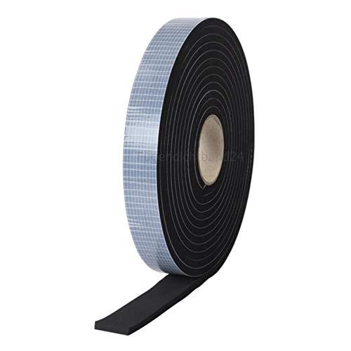 Dichtband 5m Rolle, 1mm stark, diverse Breiten, einseitig selbstklebend, EPDM Zellkautschuk EPDM 10mm x 1mm