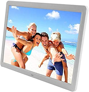 JIANGNIAU Frame 15 inch 1280 x 800 16:9 LED Widescreen Suspensibility Digital Photo Frame with Holder & Remote Control, Su...