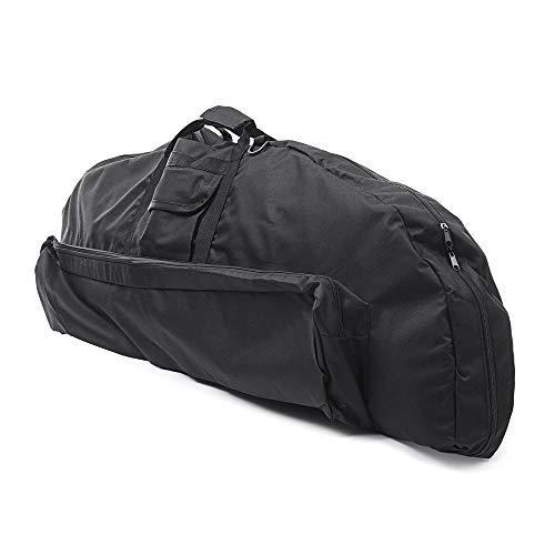 WAGX Compound Bogen Tasche, Bogenschießen-Bogen-Kasten mit Bügeln - große Kapazität, Außentasche, leicht und handlich - für Bogenschießen Training, Outdoor-Jagd