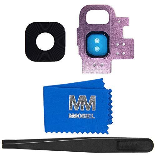MMOBIEL Glas Lens Back Camera Compatibel met Samsung Galaxy S9 (lilac purpule) - incl. Toolkit