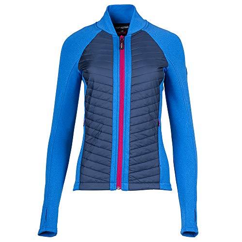 Top Reiter Jacke HEKLA, Damen, blau meliert (XL)