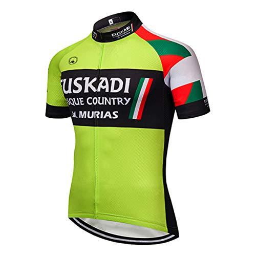 Camiseta Ciclismo para Hombre, Ropa Bicicleta de Verano, Ropa Bicicleta Transpirable de Secado rápido