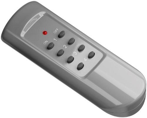 Goobay 93997 Fernbedienung als Erweiterung oder Ersatz für das Funksteckdosen-Set
