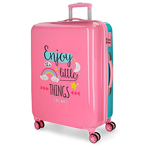 Roll Road Little Things Maleta, 67 cm, 67.5 litros, Rosa