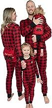 Lazy One Flapjacks, Matching Pajamas for The Dog, Baby & Kids, Teens, and Adults (Plaid Bear Cheeks, Small)