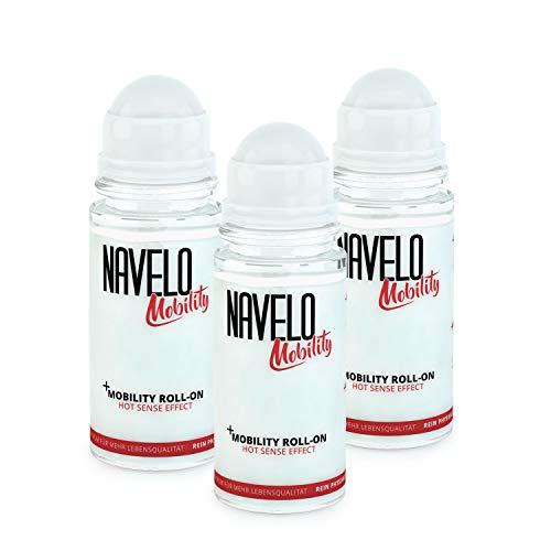 3er Pack Navelo Wärme Roll On | bei Verspannungen und Schmerzen | mehr als 100 Anwendungen | für unterwegs | kein Chili und Co. | wie Wärmepflaster | bei Nackenschmerzen und Rückenschmerzen (3)
