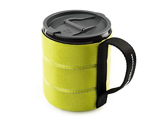 GSI Outdoor Isolierte Infinity Backpacker Tasse für Camping, robust und leicht, Neongelb, 502 ml