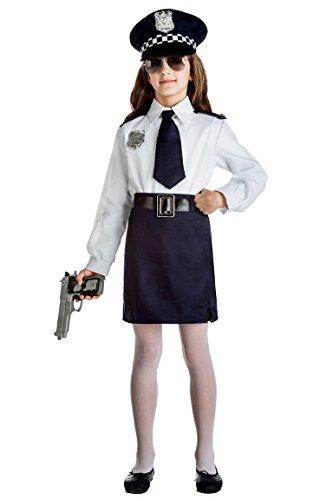 Disfraz Policia Niña Talla 10-12